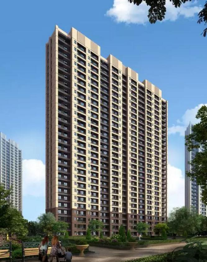 北京黑庄户定向安置房项目4#钢结构住宅楼