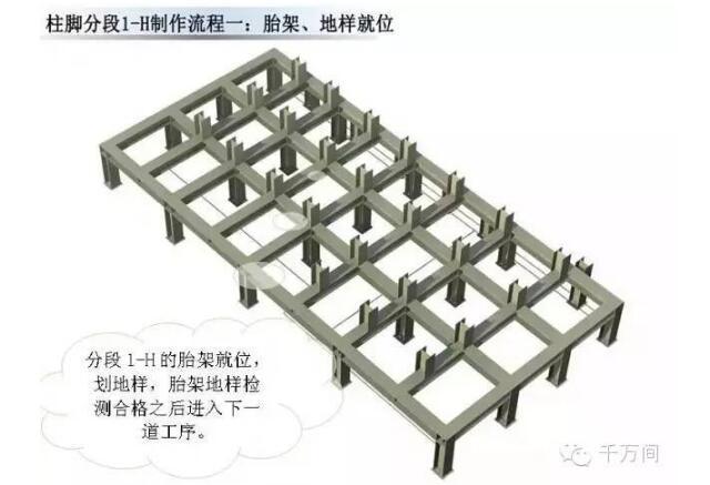 超高清钢结构三维加工图 - 预制建筑网:装配式建筑