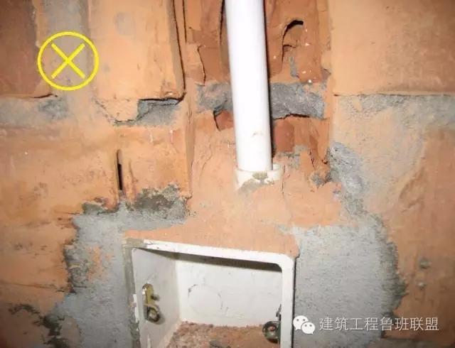二次结构配管施工中要注意的问题