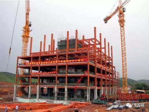 装配式钢结构,木结构 > 钢结构安装,教科书式教学  屋架安装应在柱子