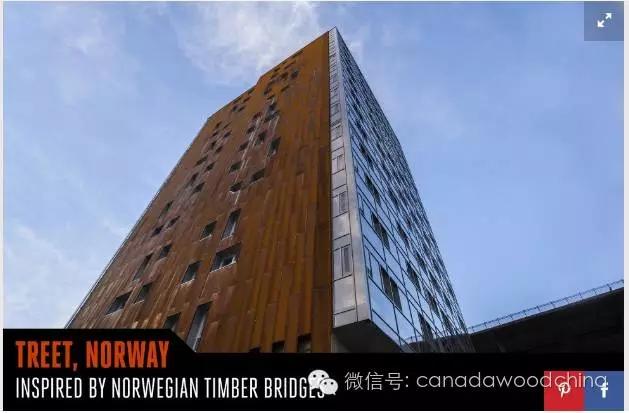 这栋目前在建的全球最高木结构建筑大楼位于加拿大不列颠哥伦比亚大学