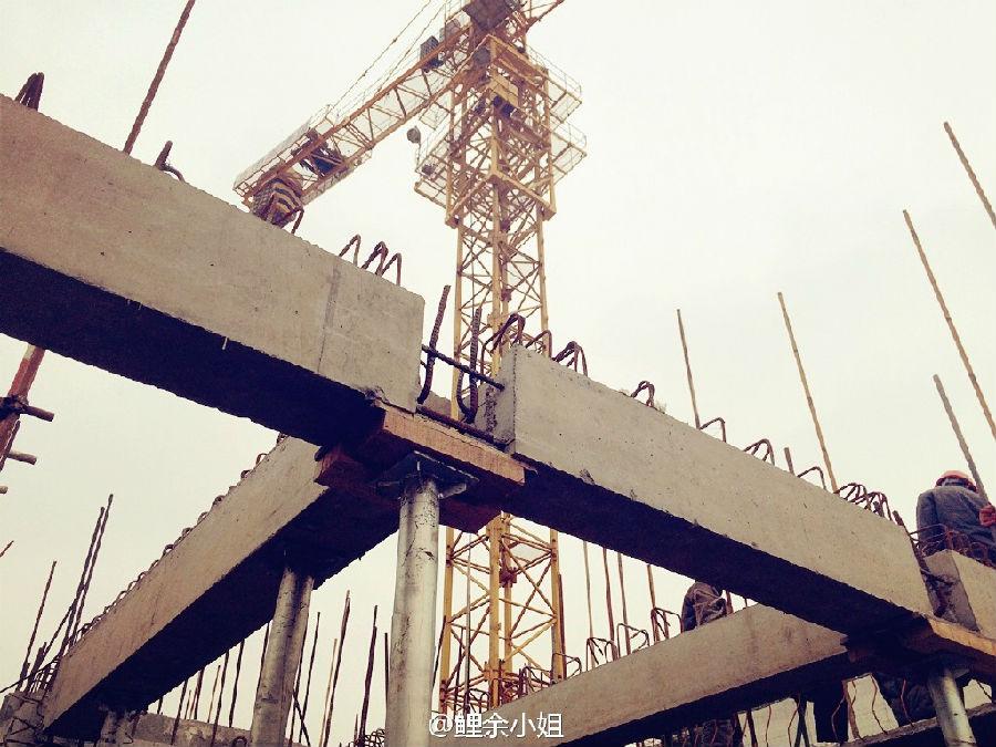 上海某工地装配式施工