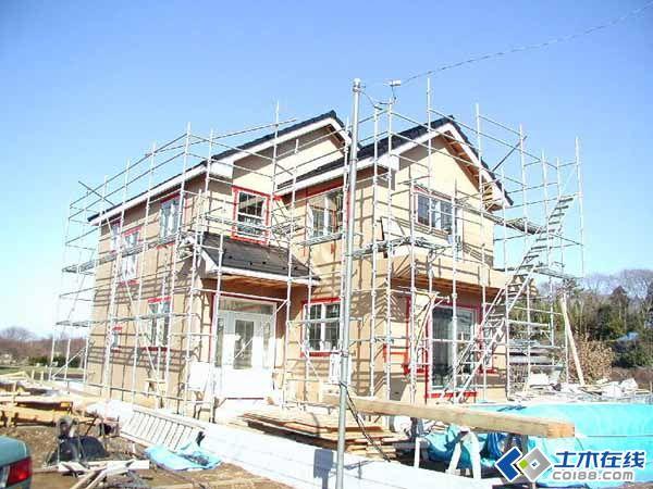 日本木结构住宅建造过程,中国也需要这样的住宅啊