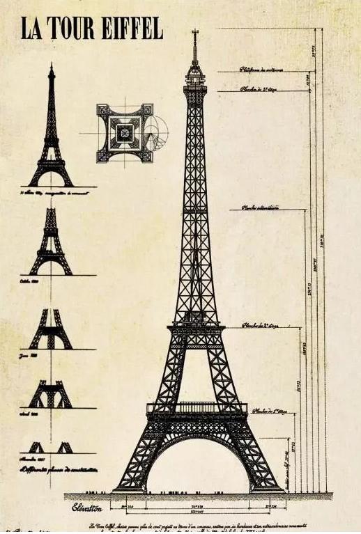 爱与执着的化身——铁结构建筑典范埃菲尔铁塔