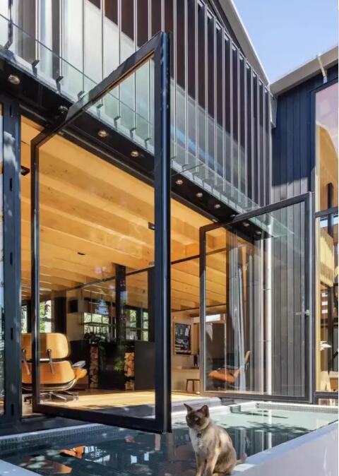 新西兰habitus钢木结构别墅 - 预制建筑网:装配式建筑