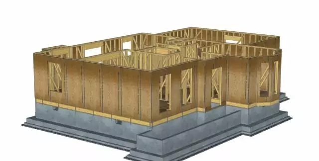 看美帝的木结构别墅是怎么盖的 - 预制建筑网:装配式