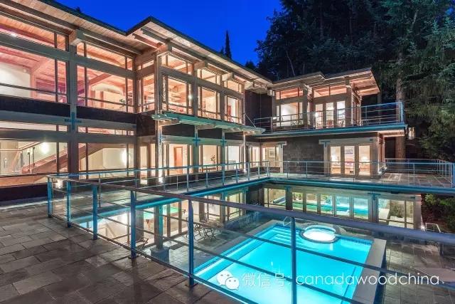 360度带你看西温最贵木结构豪宅