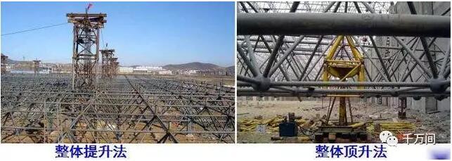 专栏 装配式钢结构,木结构 > 钢结构安装,教科书式教学  ⑵ 拔杆提升