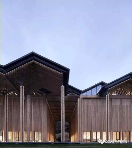 首页 专栏 装配式钢结构,木结构 > 2016年度木结构设计奖公布 ,这个4