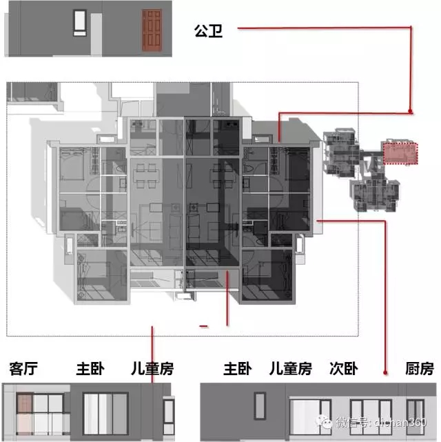万科高层住宅『立面设计』标准化方法及思路