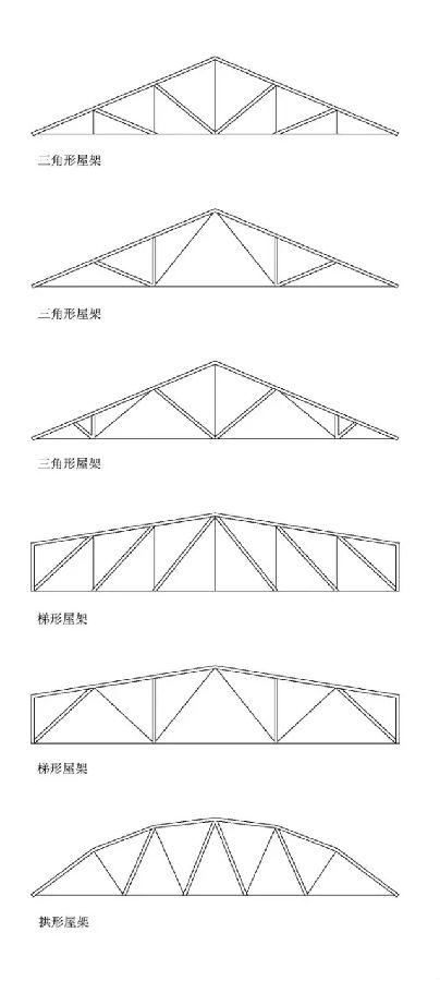 钢木结构景观构筑物的细部设计形式