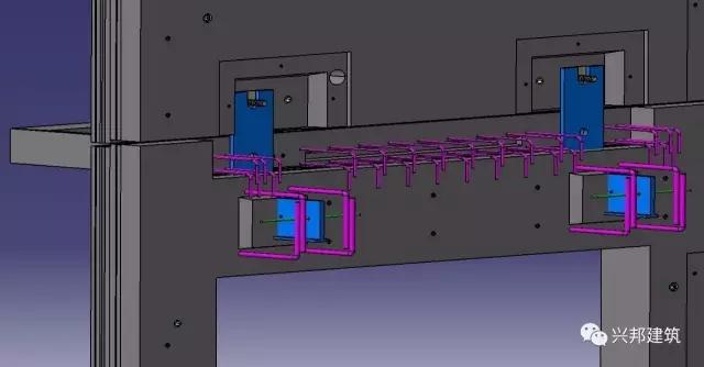 本工程项目建设地点位于上海市金山区亭林镇亭耀路以东,林兴路以南,亭浩路以西,红梓路以北,总建筑面积29910.00。结构为框架体系,其中采用预制装配式设计的单体有:专用教室综合楼、教学楼、食堂、体育馆。  项目概况   方案设计鸟瞰 项目特点 1、预制外墙 预制外墙是本项目的特色和创新之处,是集面砖反打工艺、夹心保温工艺、铝合金窗框预埋工艺、平移和旋转式外挂墙板工法等多项预制技术综合应用的一体化装配式外墙。 外挂墙板有多种类型,本工程专用教室综合楼、教学楼、食堂外挂墙板工法采用的是平移式,与主体结构同步施