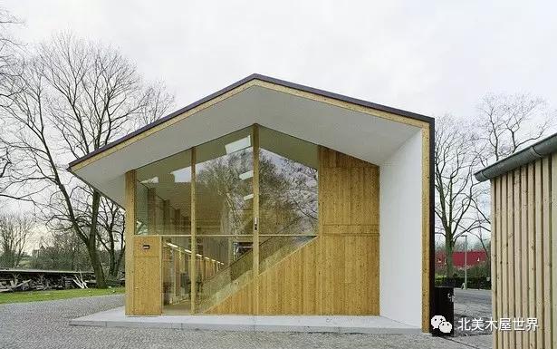 首页 专栏 装配式钢结构,木结构 > 柏林谷仓:超有腔调的低成本木结构