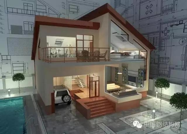 给钢结构住宅算笔账