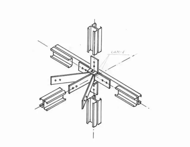 轻型卷边槽钢重量轻,易于运输和加工。Niji建筑事务所运用了这种材料的特有属性,创造了这栋边界房屋。项目位于日本东京,房屋全部采用了钢结构,在某种程度上也与典型的木质建筑相类似。在工厂中切割好钢板,预留好洞口以及制作好用于各个部分的连接五金件。当完成了基础,使用专用的螺母和螺栓,所有的预制构件可以轻松地组装在一起。  立面 得益于这种材料重量轻的特性,一个工人就可以搬动,因此可以快速的组装起框架。因为荷载小,基础也不需要打桩,这也意味着建筑成本可以进一步降低。地板、墙体和屋顶全部由钢板组成,有着足够的强