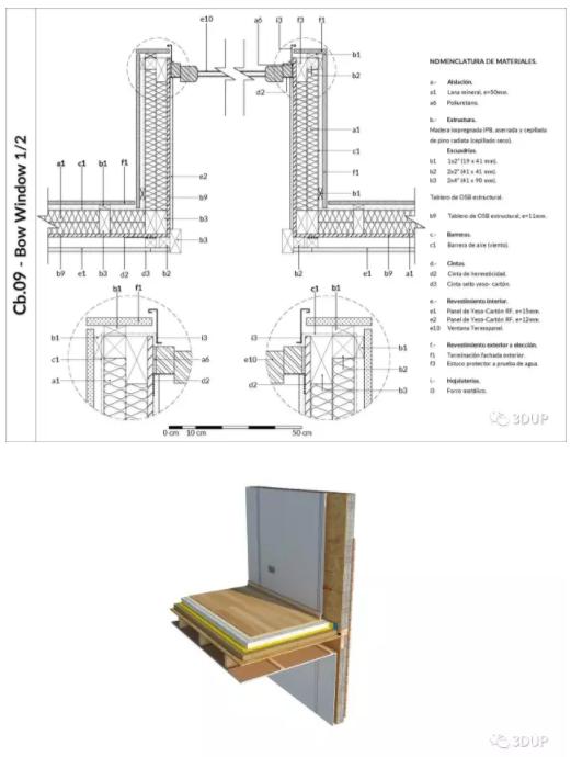 木结构有独立韵味,作为建筑材料具有重量轻、强度高、美观、加工性好等特点。是咱们非常熟悉的建筑形制,中国是古代建筑的行家,而现代建筑所用的轻型木结构始于北美地区(寒冷激发想象)。在现代西方许多优秀的木结构建筑范例中,建筑师充分利用木材的特性,创造出了丰富的空间概念和建筑形态,令人回味无穷。  SketchUp很适合创建结构细节,从3D到2D,可以将这些架构细节完整呈现。加拿大木工协会就是SketchUp的忠实用户。之前我们微信的文章介绍过美国木业协会是怎么使用SketchUp与小学展开合作。 今天给大家介