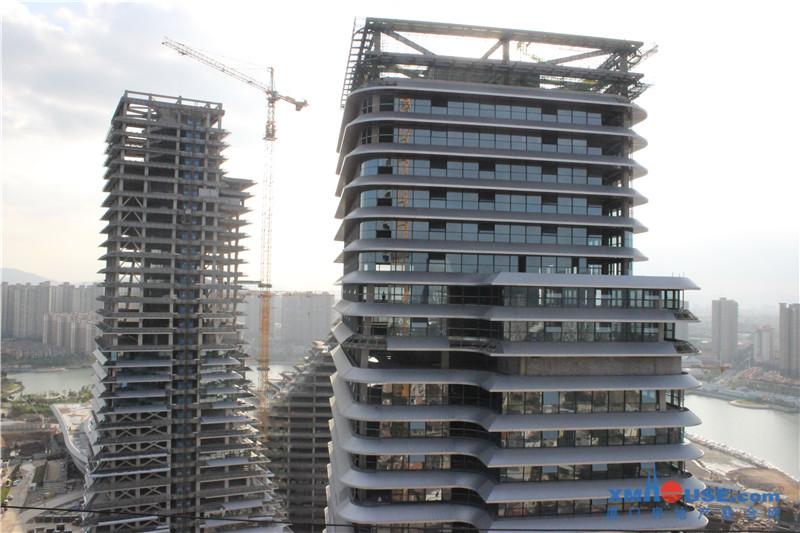 钢结构住宅产业化技术交流暨东南国际航运中心观摩