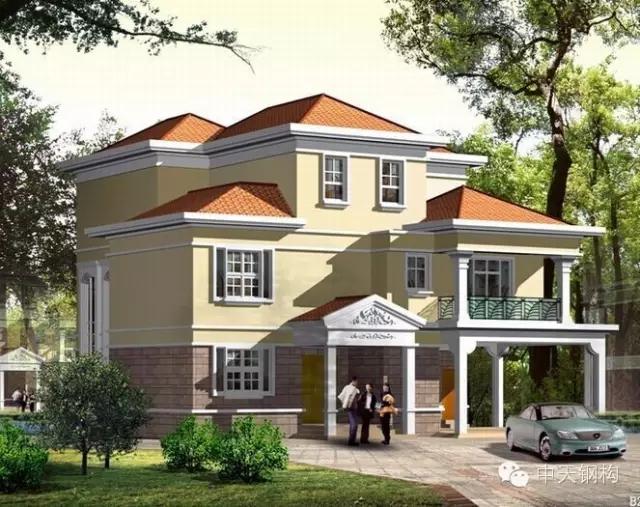 中天钢构钢结构集成化房屋