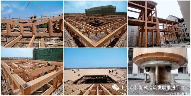 不过在本项目中,现代木结构的常规金属连接方式则暴露出金属连接节点