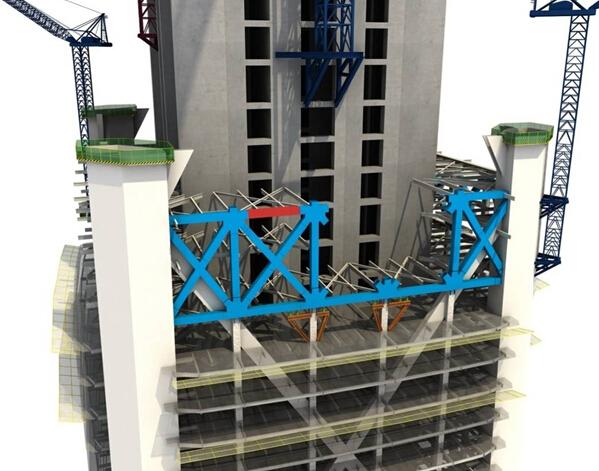 立体桁架结构图