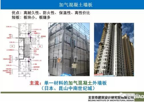 钢结构住宅alc外墙板围护体系研究与应用