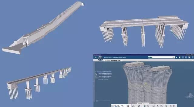 桥梁设计模型
