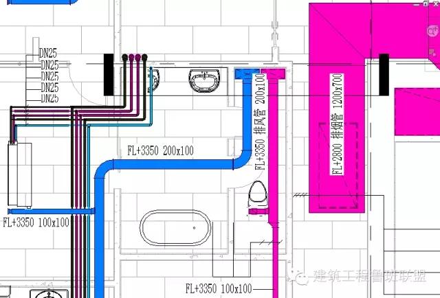 就必须确定管线在建筑结构上的预留预埋洞的位置.
