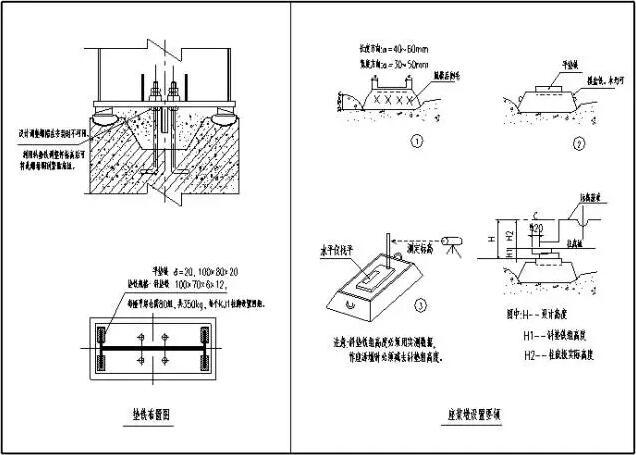 【钢结构·技术】钢结构安装的详图示意