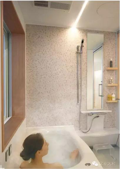 极具人性化的日式整体浴室