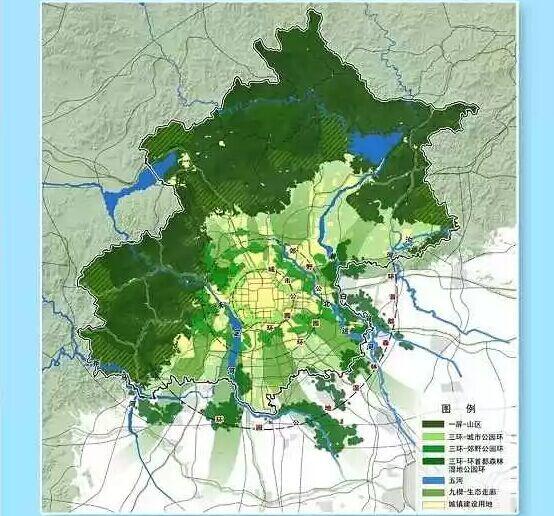 《北京城市总体规划(2016年-2030年)》草案昨起公告
