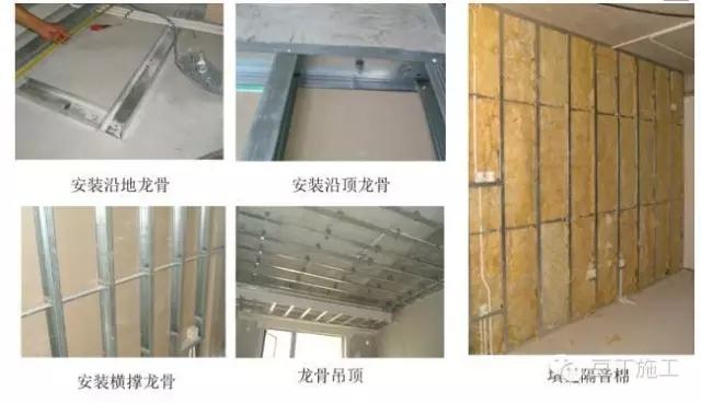 轻钢龙骨石膏板隔墙