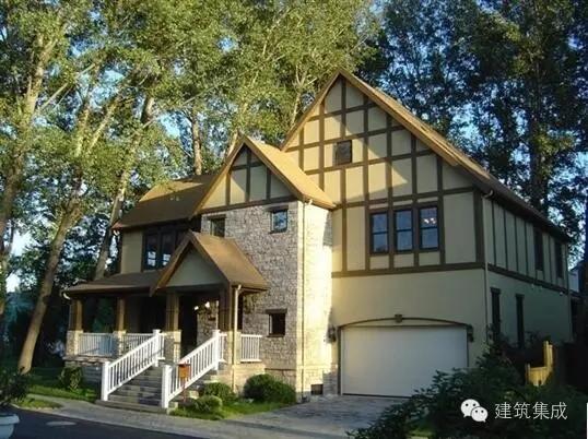 壁式框架法木结构房屋