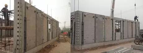混凝土空心模与住宅产业化图片