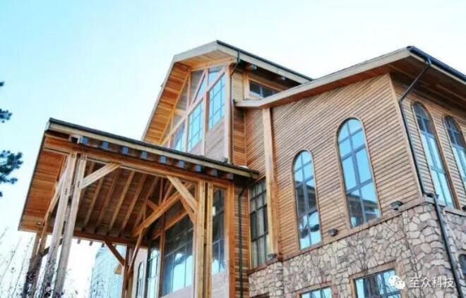 首页 专栏 装配式钢结构,木结构 > 浅谈木结构别墅  跟着旅行工业的