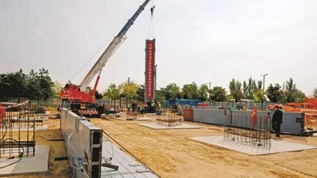 走进大同市首个装配式钢结构项目