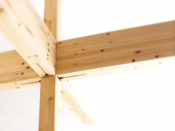 se构法木结构住宅承重框架体系中
