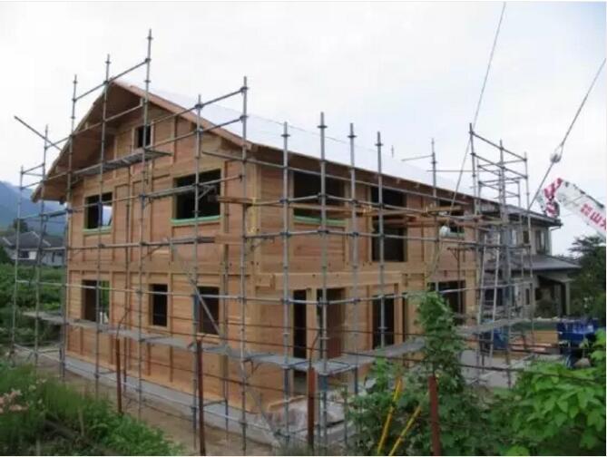 防火防水还抗震的日本木结构 - 预制建筑网:装配式