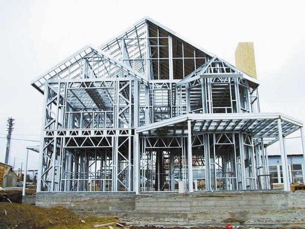量使用钢结构后