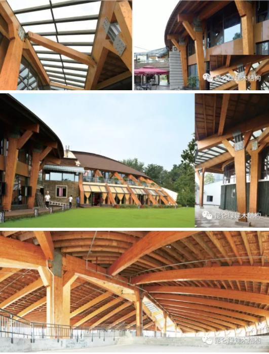 木结构屋面建筑结构