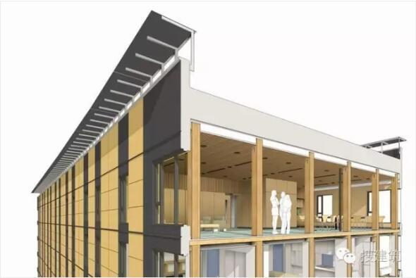 """世界最高""""木结构""""公寓,挑战结构工程师! - 预制建筑"""