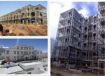 轻钢结构装配式建筑的优点概述及其施工步骤