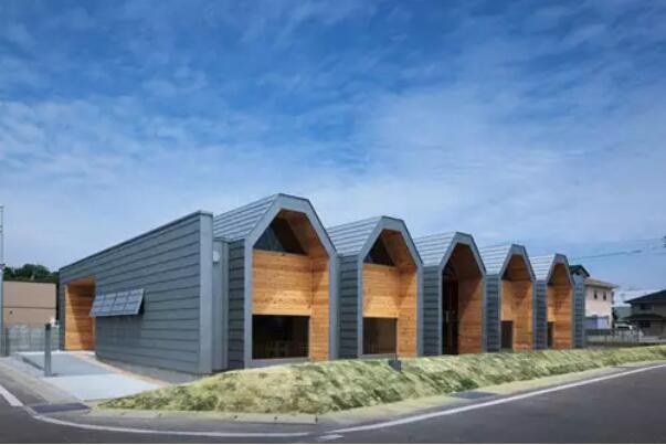 极具设计感的木结构幼儿园