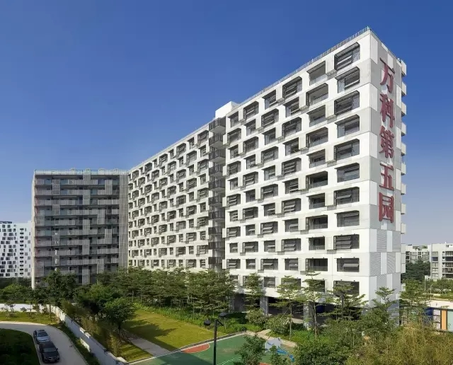 """华阳国际设计的华南地区首个工业化商品房项目""""万科第五寓"""""""
