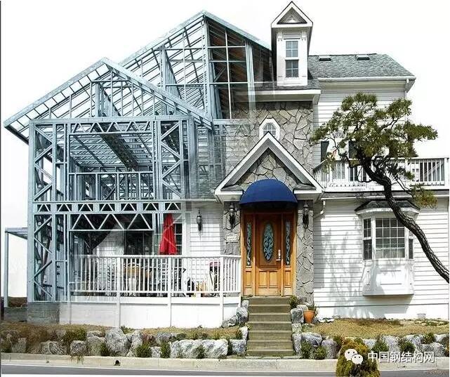 轻钢结构别墅结构稳定性高