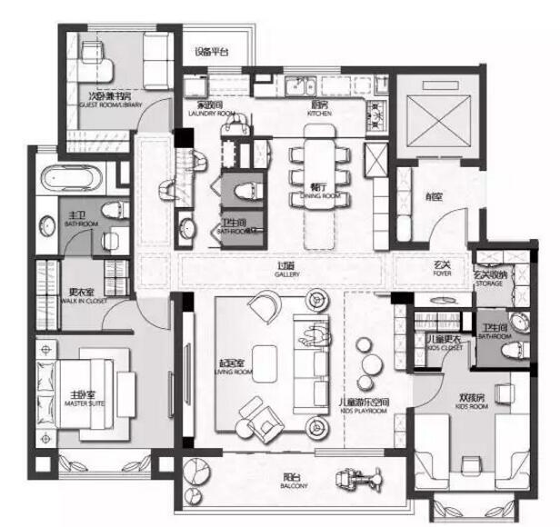 专栏 装配式建筑学院 > 未来,住宅能如何设计  在住宅设计中,户型轮廓
