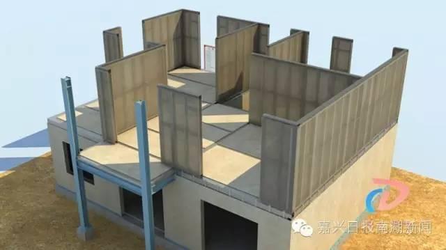 装配式钢结构,木结构 > 几天时建起一套房 嘉兴有人盖房就像搭积木