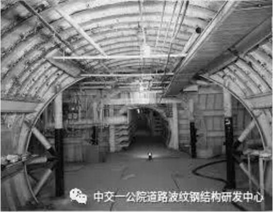 波纹钢结构综合管廊的应用及优势