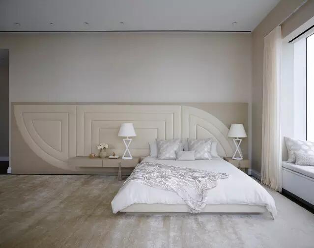 背景墙 房间 家居 设计 卧室 卧室装修 现代 装修 639_505