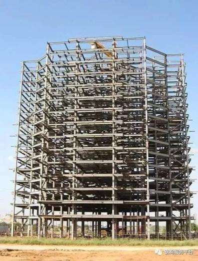 高层施工必不可少的悬挂式钢结构施工