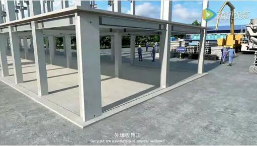 【钢构资讯】装配式钢结构建筑的施工简介